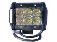 Фара светодиодная CH019B 18W Cree SPOT 6 диодов по 3W