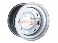 Диск колесный стальной УАЗ R15 5x139.7 8x15 ET-19 А17 (серебристый) OFF-ROAD Wheels